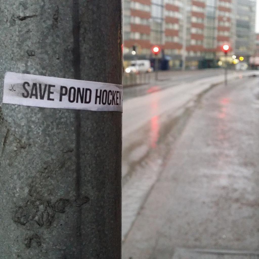 Save Pond Hockey - Käpylä Maanantai  - Sörnäinen - Pipolätkä